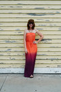 Carrot-orange-maxi-ombre-old-navy-dress