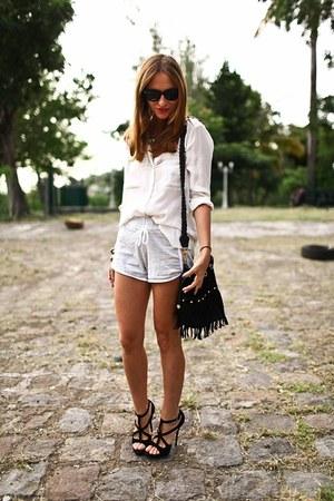 Domyos shorts - Zara blouse