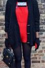 Black-80s-betmar-fur-vintage-hat-black-suede-ankle-cotton-on-boots