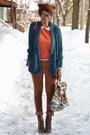 Dark-brown-levis-jeans-carrot-orange-jollychic-sweater