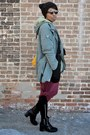 Olive-green-oversized-parka-jollychic-jacket-mustard-hobo-thrifted-bag
