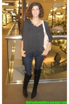 Forever 21 top - Kenneth Cole shoes - J Brand jeans