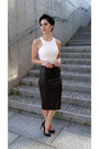 Black-cubus-sunglasses-black-zara-heels-dark-brown-leather-snake-zara-skirt