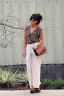 Bronze-vintage-coach-coach-purse-camel-silence-noise-bodysuit