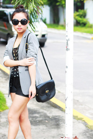 had it made blazer - had it made shorts - christian dior - Forever 21 sunglasses