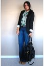Navy-trouser-jeans-seven-for-all-mankind-jeans-black-mossimo-blazer
