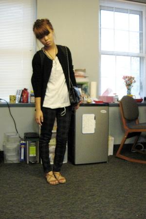 Barneys jacket - H&M shirt - forever 21 pants - kate spade shoes
