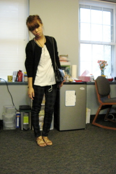Barneys jacket - H&M shirt - forever 21 pants - kate spade shoes