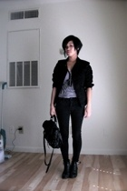 American Apparel jacket - iheartnorwegianwood on etsy accessories - Hot Topic je