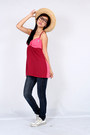 Ruby Red Cami Midwest Vintage Tops