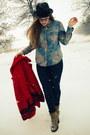 Red-vintage-coat