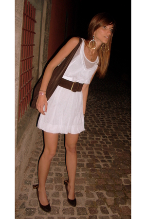CPCOMPANY dress - vintage purse - vintage belt - Estelle Yomeda shoes