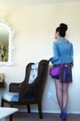 Miss-sixy-jacket-deep-purple-vintage-fendi-bag-violet-fetilo-christian-loubo