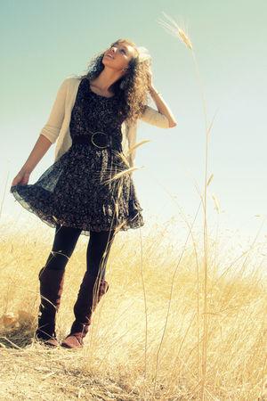 Forever 21 dress - American Eagle cardigan - Target belt - Target tights - Ross