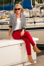Navy-the-limited-blazer-red-forever-21-pants