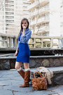 Tawny-riding-aldo-boots-blue-lace-bodycon-hello-miss-dress