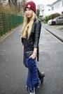 Zara-dress-carhartt-hat