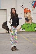 River Island pants - Bershka blazer