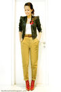 Black-river-island-blazer-white-topshop-top-brown-zara-pants-purple-christ