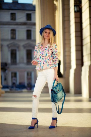 Vero Moda shirt - new look heels