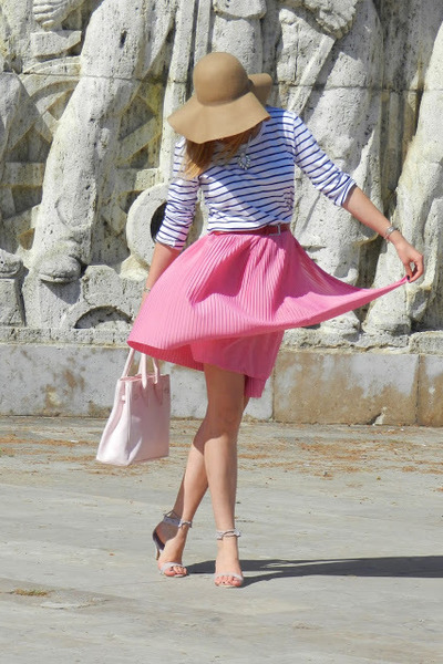 Glow skirt - H&M hat