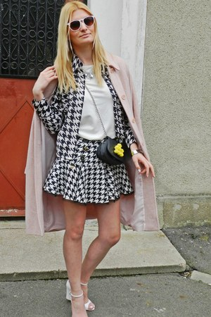 dogtooth River Island skirt - Zara shoes