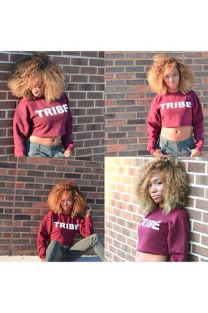 We the Tribe sweatshirt