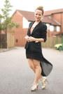 Salmon-select-top-black-select-skirt