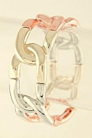 silver My Alexas Store bracelet