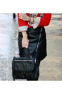 Red-cat-target-sweater-black-dkny-bag-black-h-m-skirt