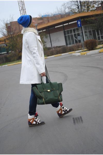 Phillip Lim bag - H&M coat
