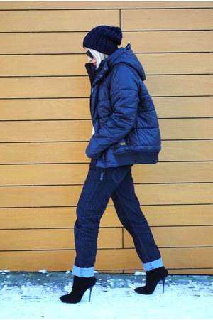 Giuseppe Zanotti boots - G-Star raw jacket