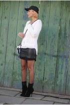 Giuseppe Zanotti boots - Phillip Lim bag - H&M skirt