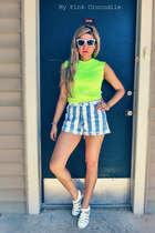 Vintage Retro High Waisted Shorts