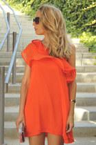 Ebay bracelet - Sheinside dress - Zara bag - dior sunglasses