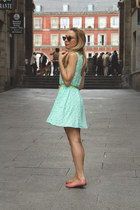 zalando dress - Adamarina bag - vivienne westwood for melissa flats