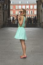 zalando dress - Adamarina bag - vivienne westwood for melissa flats