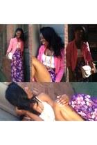 purple skirt Forever 21 skirt