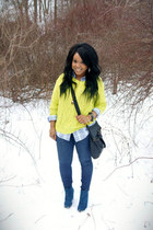 Urban Outfitters sweater - Forever 21 boots