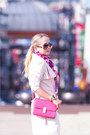 Hot-pink-forever-21-scarf-hot-pink-miss-nabi-bag