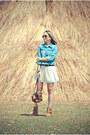 Bronze-asos-boots-off-white-forever-21-dress-sky-blue-forever-21-jacket