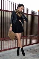 black asos jacket