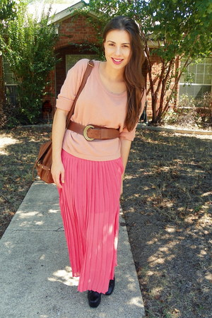 hot pink maxi sugarlipscom skirt - coral Forever 21 jumper