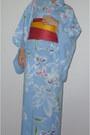 Sky-blue-yukata-dress-hot-pink-obi-belt-geta-sandals