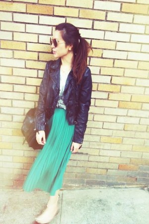H&amp; jacket - Topshop skirt
