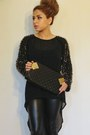 Black-forever-21-leggings-black-moni-j-purse-tan-zara-heels