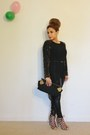 Black-forever-21-leggings-black-moni-j-purse-tan-zara-heels