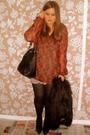 Orange-topshop-sweater-black-river-island-coat-black-topshop-shoes-black-z