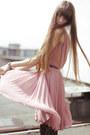 Bubble-gum-mango-dress