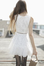 White-issa-dress-black-wolford-tights-camel-camera-vintage-bag